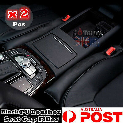 2 x PU Leather univeral Car Seat Gap Spacer protector Filler Padding multi color
