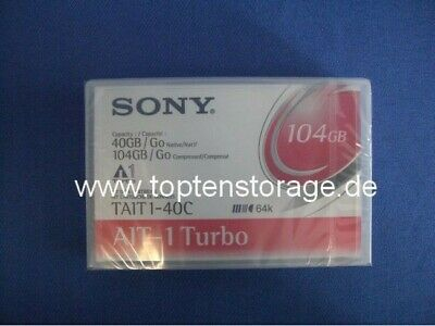 Sony TAIT1-40C AIT-1 Turbo Datenkassette - Data Cartridge 40 GB / 104 GB  *NEW*