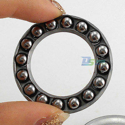 Bearing Thrust 3Part Thrust Ball Bearing Steel 51105 Series 25 x42 x11mm