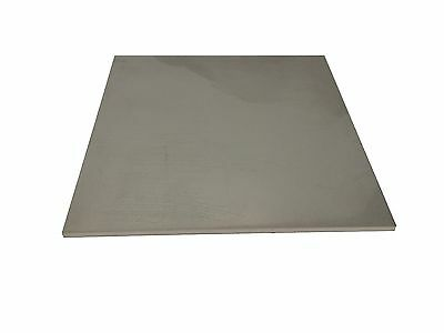 "1/4"" Stainless Steel Plate, 1/4"" x 5"" x 5"", 304 SS"