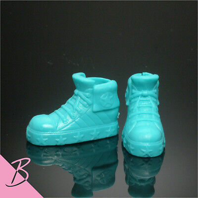 Skipper Shoes/Boots Blue Sneakers for Mattel Barbie NEW #2860