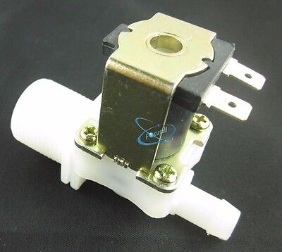 "12V 3/4"" BSP Inlet IN to 12mm 11mm Outlet Out Solenoid Valve Water Inlet Feed NC"