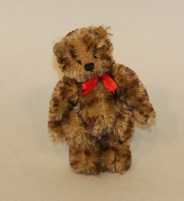 Deb Canham Friends Collection 3 Inch Jointed Mohair Bear Brighton Ltd Ed #8/200