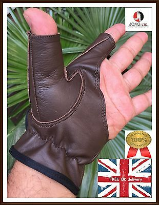 Bow Glove Left Hand & Right Hand ( Chocolate Brown  ) All size available
