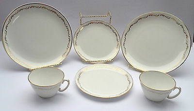 6 piece Royal Stafford for TCA TransContinental Airlines 4 plates, 2 cups  (647)