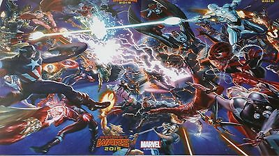 New York Comic Con 2014 NYCC SDCC Marvel Secret Wars 4 Piece Poster  RARE Gift