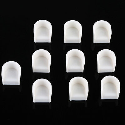 10pcs Round Chair 1/50 O Scale Dollhouse Architecture Furniture DIY White