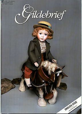 Gildebrief 1/2009 Dollmaking Antique Dress & Knitting Patterns Kestner x