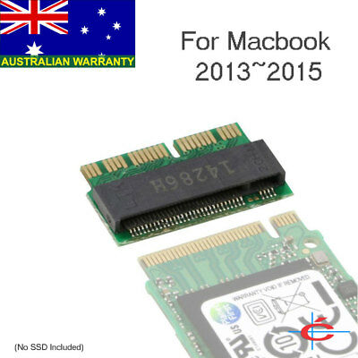 12+16pin 2013 2014 2015 Macbook SSD to M.2 NGFF M-Key SSD Convert Card Adapter