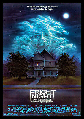Fright Night Repro Film Poster
