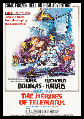 The Heroes Of Telemark Repro Film Poster