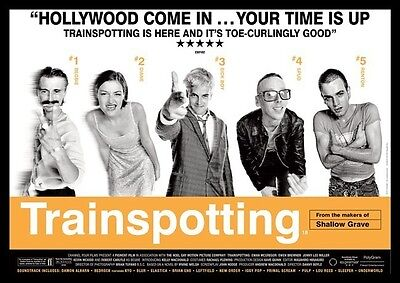 Trainspotting Repro Film Poster #2
