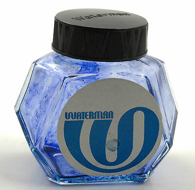 Vintage Waterman Tintenfass 70er ink bottle 70ies