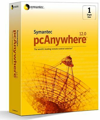 Symantec PCanywhere 12.0 Host and Remote - Retail Boxed