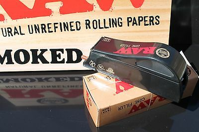 RAW Rolling Papers Loader/Shooter/Filler - King Size for Pre-Rolled Cones