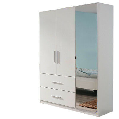 kleiderschrank hochglanz wei kinderzimmer jugendzimmer dreht renschrank schrank eur 329 90. Black Bedroom Furniture Sets. Home Design Ideas