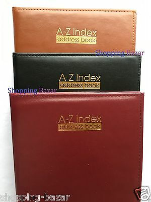 Tallon Large Padded Address Book A-Z Index Office Desktop Home Directory Records