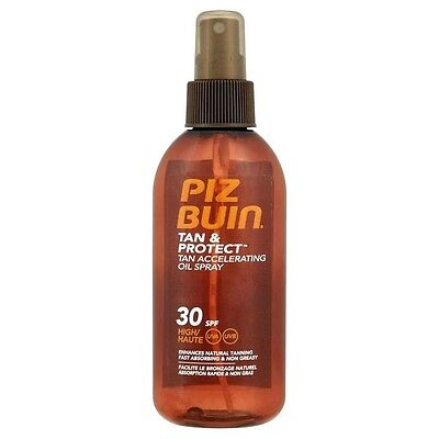 Piz Buin Tan & Protect Accelerating Oil Spray SPF 30 High 150ml