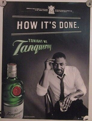 New Lot of 2 Store Display  Posters Ad Print Tanqueray  How It's Done