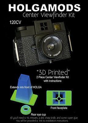 Holgamds Center Viewfinder Kit for Holga 120S or 120N
