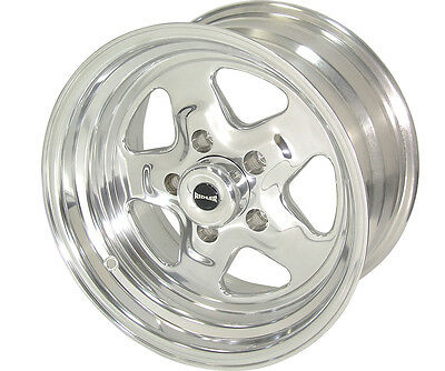 RIDLER 655-5165P Prostar Wheel Polished 15x10 Ford Back Space -44mm