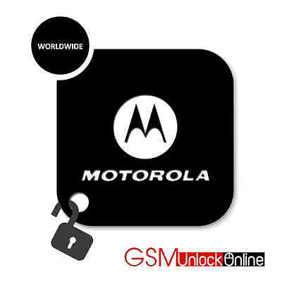 Unlock Code For Motorola Moto G 2nd 3rd 4th 5th Gen XT1063 XT1032 Nextel Mexico