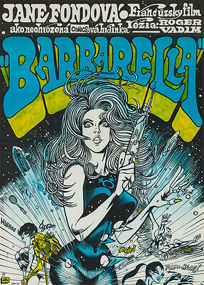 Original Barbarella Czech, Film/Movie Poster