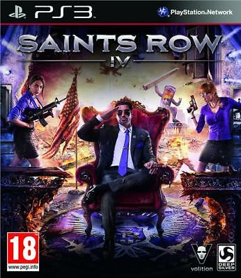 Saints Row IV 4 for PS3 New and Sealed