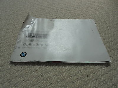 BMW Z3 Business RDS car Radio Operating Manual 32 pages