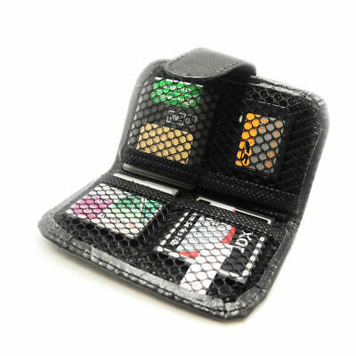 Memory Card Wallet for Micro SD SDHC CF SM Protective Storage Holder Pouch Case