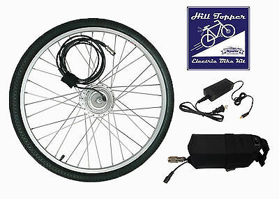 Electric Bike Conversion kit with ALL PARTS - 12 Mile LITHIUM battery