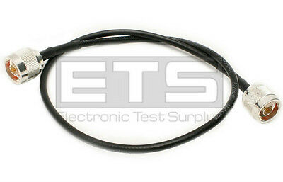 Times MicroWave Systems Type N Coax Male Cable 24in.