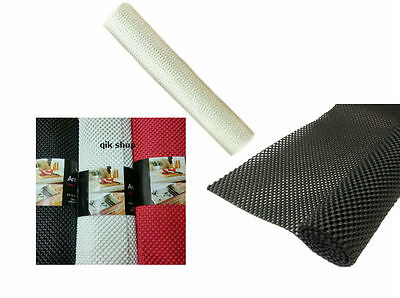 Non Slip Kitchen Drawer Boot Liner Gripper Mat Roll Cut To Fit 30 X 200 Cm