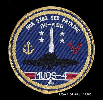 MUOS-4 - ATLAS V AV-056 ORIGINAL USAF DOD SATELLITE Launch SPACE PATCH