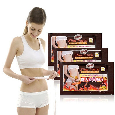 30Pcs/lot Slim Patch STRONGEST Weight Loss Slimming Diets Pads Detox Adhesive