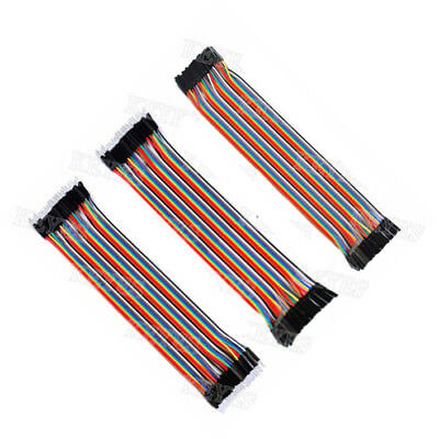 120pcs 30cm 2.54mm 1pin Jumper Wire Dupont Cable for Arduino