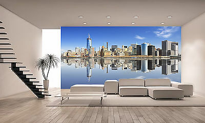 NY CITY AT LOWER MANHATTAN Wall Mural Photo Wallpaper GIANT DECOR Paper Poster