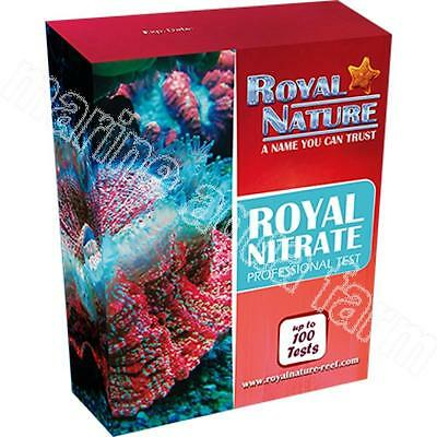 Royal Nature Nitrate Test Kit 100 Tests, Marine Reef Coral Aquarium Fish Tank