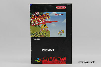 Pac Man 2 / II The New Adventures *Anleitung / Manual* für Super Nintendo / SNES
