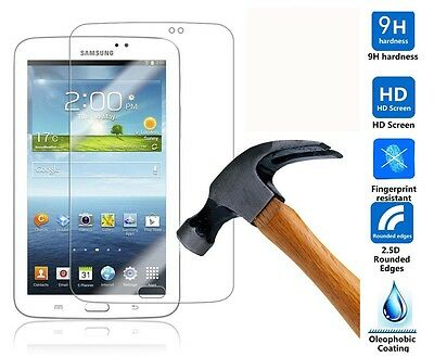 "Genuine Tempered Glass Screen Protector For Samsung Galaxy Tab 3 7.0""SM-T210/211"
