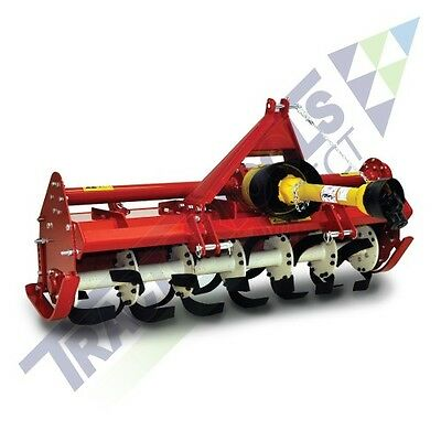 """Caroni 43"""" Heavy Duty 3 1/2 Foot Tiller for Compact Tractors Runs on 15-30 hp"""