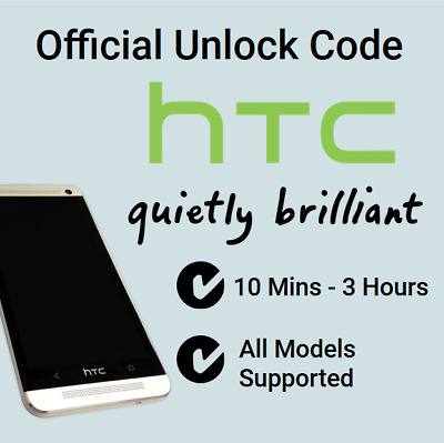 Network Unlock Code Service For HTC Desire 820 610 612 310 300 - All UK Network