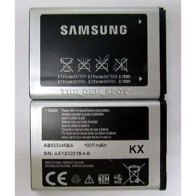 LOT 25 OEM AB553446BA KX BATTERY FOR SAMSUNG A645 SGH-A837 Rugby D347 D407 T119