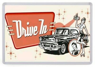 Mel/'s Drive In American Graffiti Style Diner USA Magnet Magnetschild