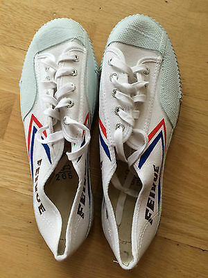 Black and White Feiyue Martial arts / Kung Fu shoes