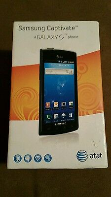 Samsung Galaxy S Captivate SGH-I897/ android / free ship / Black (AT&T)