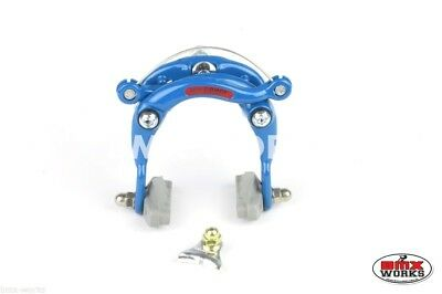 Genuine Dia-Compe DC750 Centre Pull Caliper Freestyle Blue - Old School BMX
