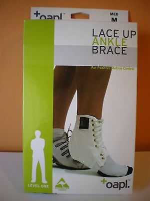 OAPL Ankle Brace White Lace Up basketball