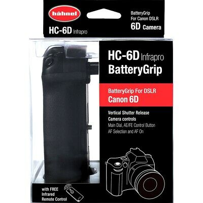 Hahnel HC-6D Infrapro Battery Grip for Canon EOS 6D with Built-in Remote Control