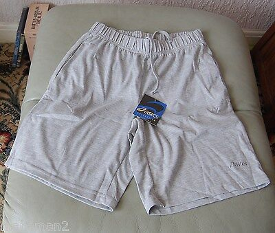 Asics  Mens Fitness Gym Sports Plutarco Shorts Size small  colour grey